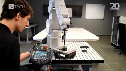 B:TECH – Automatická kalibrace průmyslových robotů