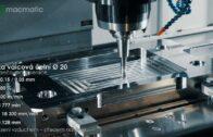 Frézování rámu formy na stroji macmatic VMC 1670