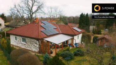 Vyrobenou energii ze slunce využijte na chod své domácnosti a provoz tepelného čerpadla