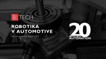 B:TECH Robotika ve výrobě – montážní pracoviště
