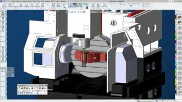 CAM GibbsCAM, řešení pro Microcut MCU-5X (CNC Heidenhain 640, CNC Sinumerik 840D), ADATE, s.r.o.