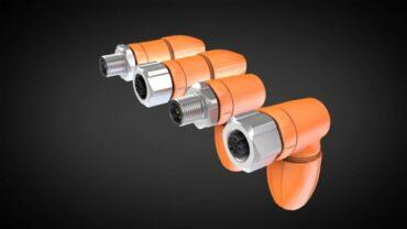 Kabelové konektory M12 pro obráběcí stroje a automatizaci výroby