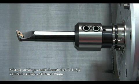 Misan: Ukázka obrábění na stroji Okuma