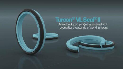 Turcon® VL Seal® II – Nová generace hydraulických pístnicových těsnění