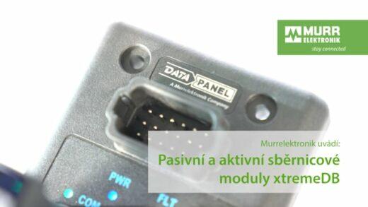 Pasivní a aktivní sběrnicové moduly xtremeDB