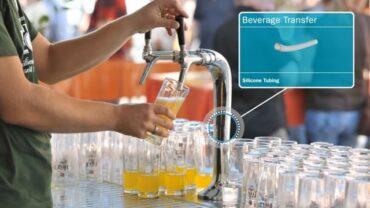 Těsnicí prvky pro potravinářský, nápojový a farmaceutický průmysl