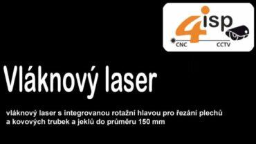 Práce na vláknovém řezacím laseru