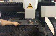 Řezání kovu na vláknovém laseru