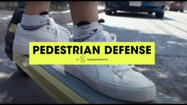 Pedestrian Defense – LINK Scooters by Superpedestrian